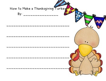 How to Make a Thanksgiving Turkey