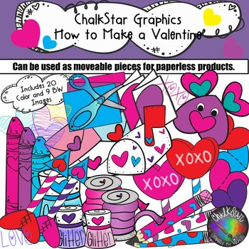 How to Make a Valentine Clip Art