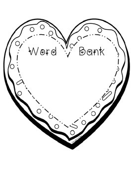 How to Make a Valentine Cookie- Common Core ELA Writing-preview freebie