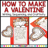 How to Make a Valentine Writing | Valentine's Day Sequencing and Craft