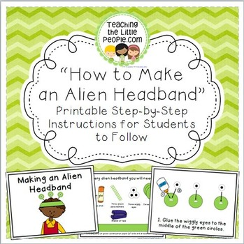 How to Make an Alien Headband: Step-by-Step Instructions for Students To Follow