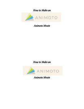 How to Make an Animoto Movie