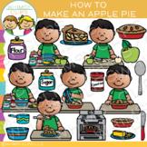 How to Make an Apple Pie Clip Art {Fall Clip Art}