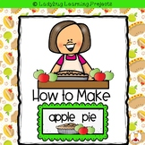 How to Make an Apple Pie  {Ladybug Learning Projects Bundle}