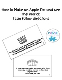 How to Make an Apple Pie and Follow Directions Pack