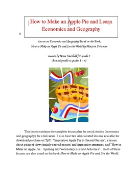 How to Make an Apple Pie and Learn Economics and Geography