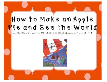 How to Make an Apple Pie and See the World Activities