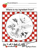 How to Make an Apple Pie and See the World geography worksheet elementary