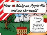 How to Make an Apple Pie and see the world Literacy and Geography Extensions