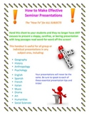 How to Make an Effective Presentation Handout