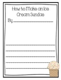 How to Make an Ice Cream Sundae