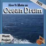 Make a Musical Instrument Project | How to Make an Ocean Drum, FREE