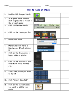How to Make an iMovie 10.1.1