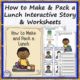 How to Make and Pack a Lunch Interactive Story, Flashcards