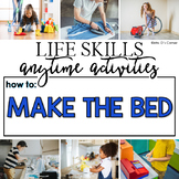 How to Make the Bed Life Skill Anytime Activity | Life Skills Activities