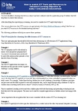 How to Match ICT Resources to Learning Outcomes in Early Childhood Education