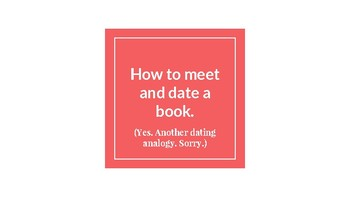 How to Meet and Date a Book: Helping Your Students Find SS