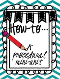How to Writing: Writing Procedural Text