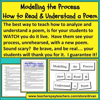 How to Model How to Read & Understand a Poem