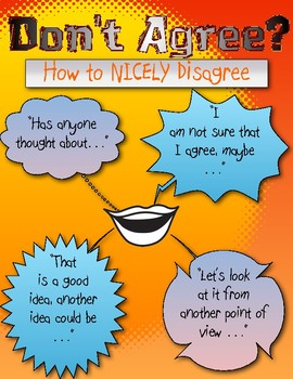 How to NICELY disagree