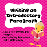 Writing an Introductory Paragraph