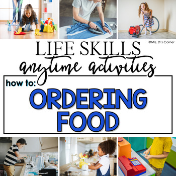 How to Order Food Life Skill Anytime Activity | Life Skills Activities