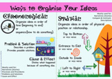 How to Organize Ideas in Writing Essays 2 - printable cards