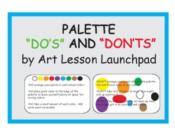 How to Organize Your Palette for Painting: Palette Do's and Don'ts