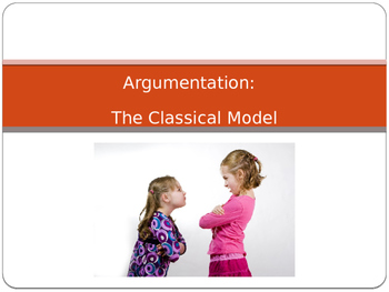 How to Organize an Argument