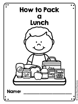 How to Pack a Lunch Booklet (w/prompts)