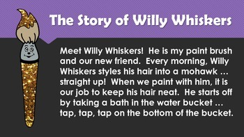 How to Paint with Willy Whiskers