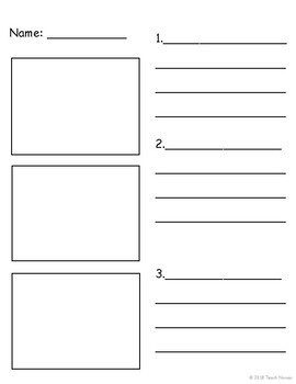 How-to Paper Numbered Steps Paper