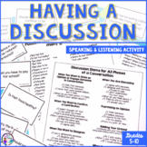 Speaking and Listening | How to Have a Discussion