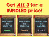 How to Pass the Math FSA - ALL 3 Grades BUNDLE! (3rd, 4th, 5th)