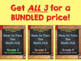 How to Pass the Math FSA - ALL 3 Grades BUNDLE! (3rd, 4th, 5th)