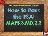 How to Pass the Math FSA - Bar and Picture Graphs - MAFS.3.MD.2.3 (Test Prep)