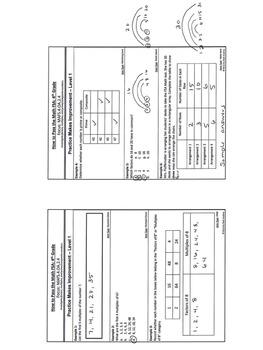 How to Pass the Math FSA - Factors, Multiples, Prime, Composite- MAFS.4.OA.2.4