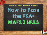 How to Pass the Math FSA - Fraction Equivalence & Comparison 3.NF.1.3 Test Prep