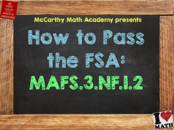 How to Pass the Math FSA - Fractions on a Number Line MAFS