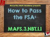 How to Pass the Math FSA - Rounding - MAFS.3.NBT.1.1 (Test Prep)