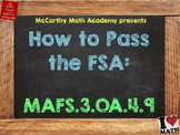 How to Pass the Math FSA - Patterns - MAFS.3.OA.4.9 (Test Prep)