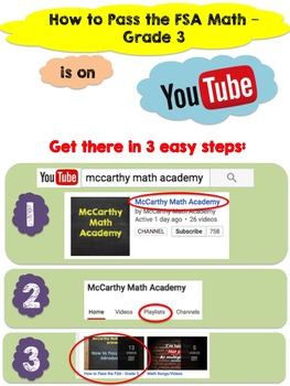 FSA Math | 3rd Grade Test Prep with Videos | All Standards