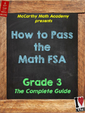 3rd FSA Math Test Prep with Videos | Perfect for DISTANCE