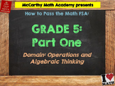 5th Grade Math FSA Test Prep - Part 1 -  FREE Videos