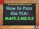 How to Pass the Math FSA - Perimeter - MAFS.3.MD.4.8 (Test Prep)