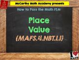 How to Pass the Math FSA - Place Value - MAFS.4.NBT.1.1 (Test Prep)