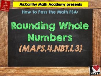 How to Pass the Math FSA - Rounding - MAFS.4.NBT.1.3 (Test Prep)