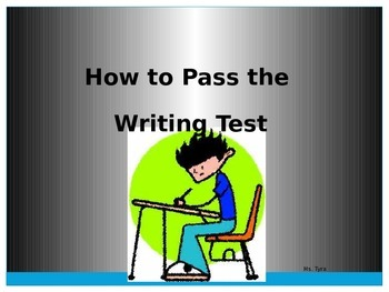 How to Pass the State Writing Test