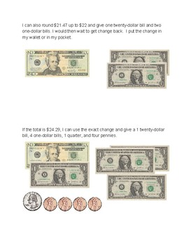 How to Pay at the Store: Dollar Up Method