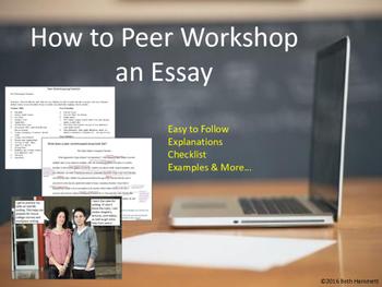 How to Peer Workshop an Essay